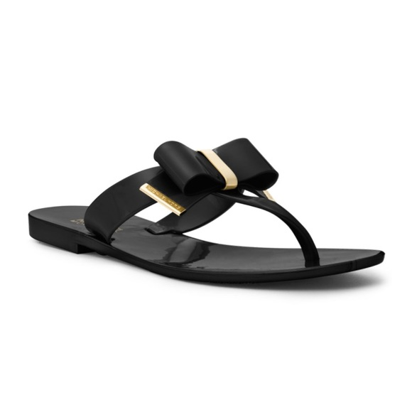 2564dd3b909 Michael Kors black Kayden Jelly Sandals. M 5aea9a1a3316271c29416103